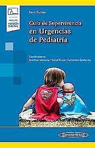 Portada del libro 9788491105299 Guía de Supervivencia en Urgencias de Pediatría