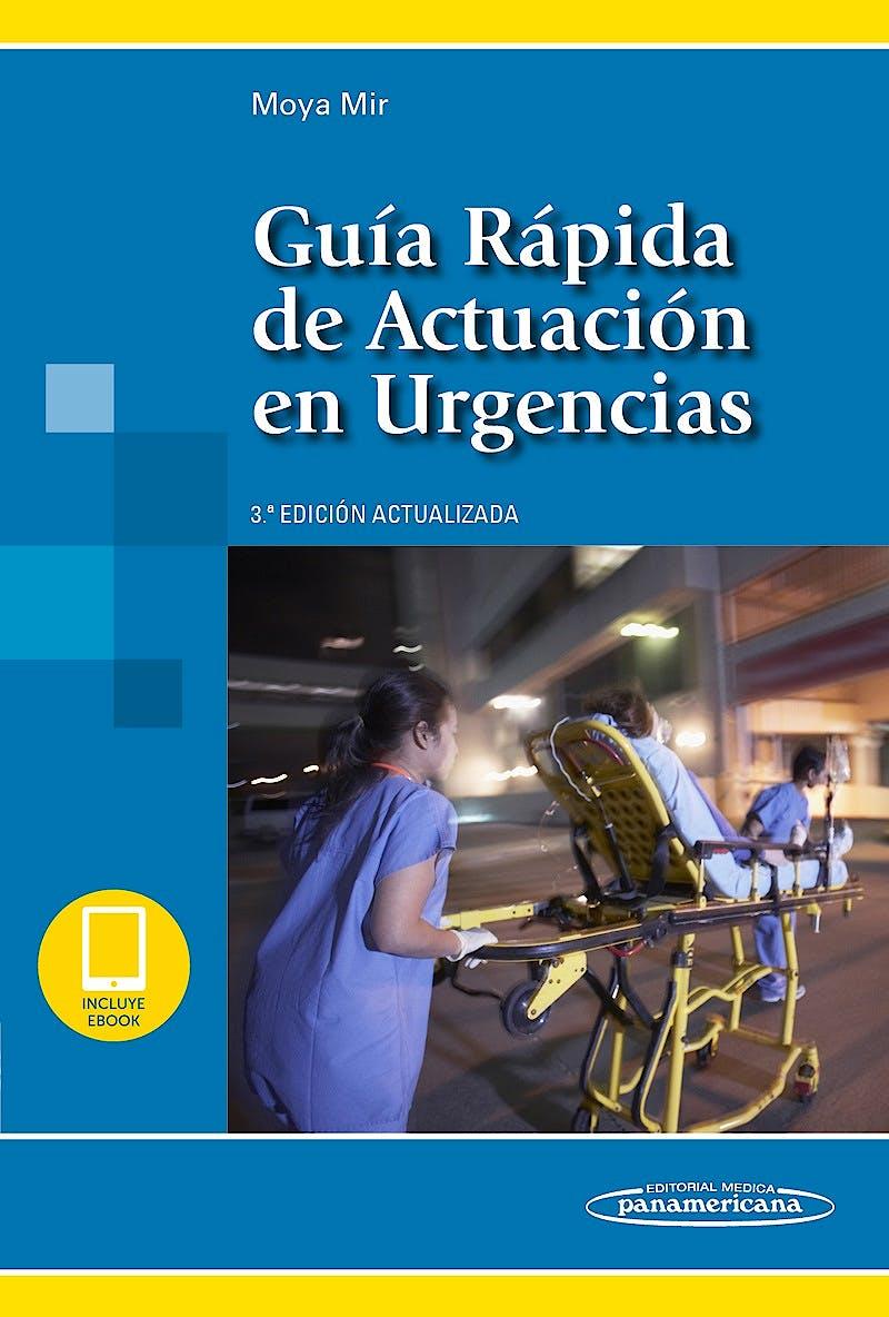 Portada del libro 9788491105596 Guía Rápida de Actuación en Urgencias (Incluye Versión Digital)