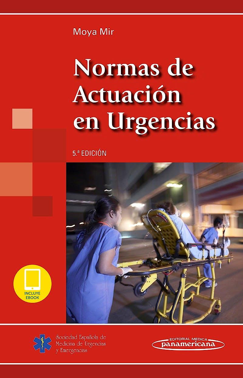 Portada del libro 9788491105824 Normas de Actuación en Urgencias