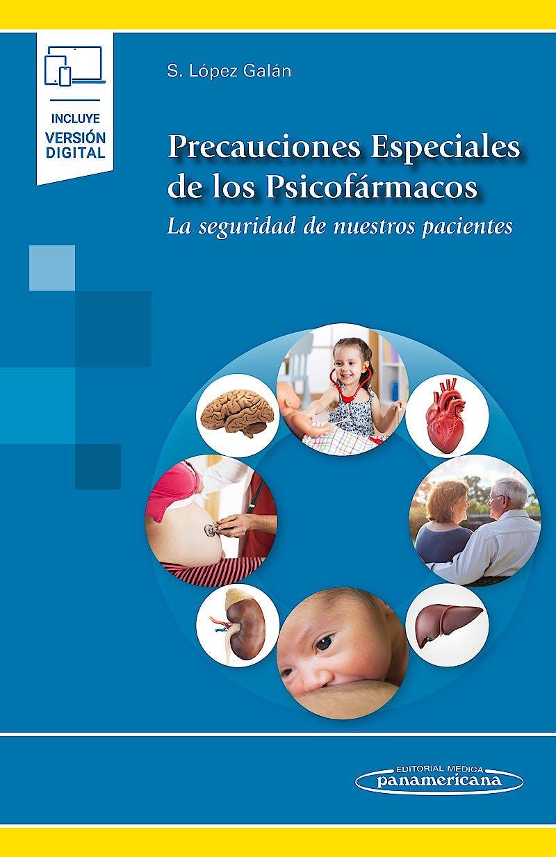 Portada del libro 9788491106548 Precauciones Especiales de los Psicofármacos. La Seguridad de Nuestros Pacientes (Incluye Versión Digital)