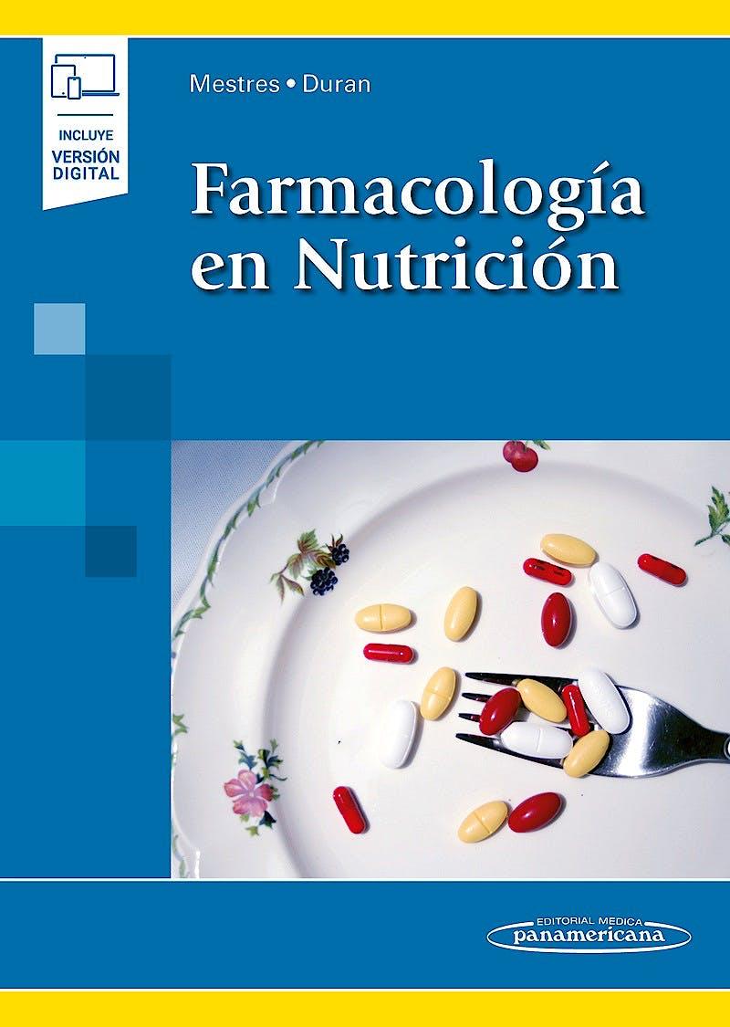 Portada del libro 9788491106852 Farmacología en Nutrición (Incluye Versión Digital)