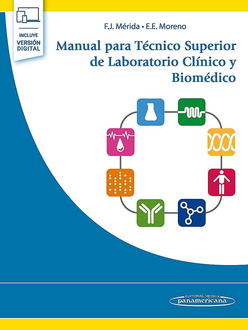 Portada del libro 9788491106890 Manual para Técnico Superior de Laboratorio Clínico y Biomédico (Incluye Versión Digital)