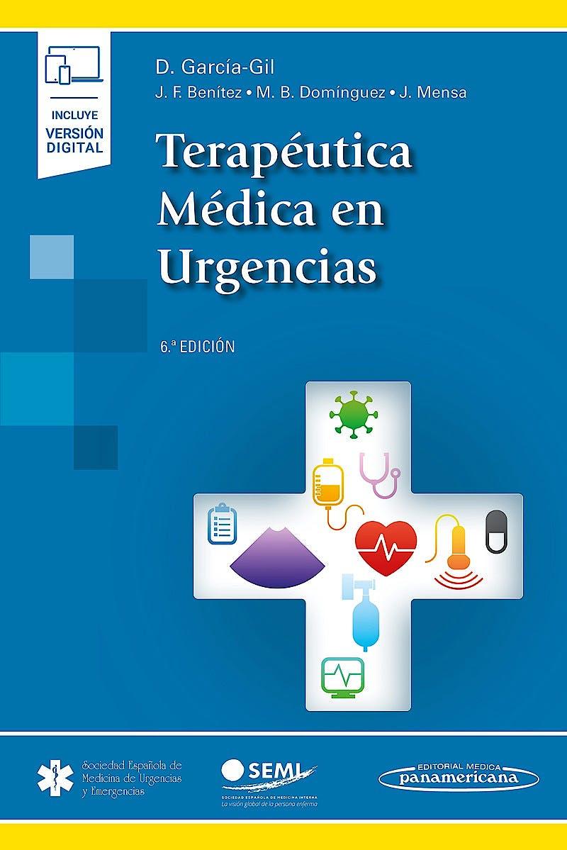 Portada del libro 9788491107040 Terapéutica Médica en Urgencias (Incluye Versión Digital)