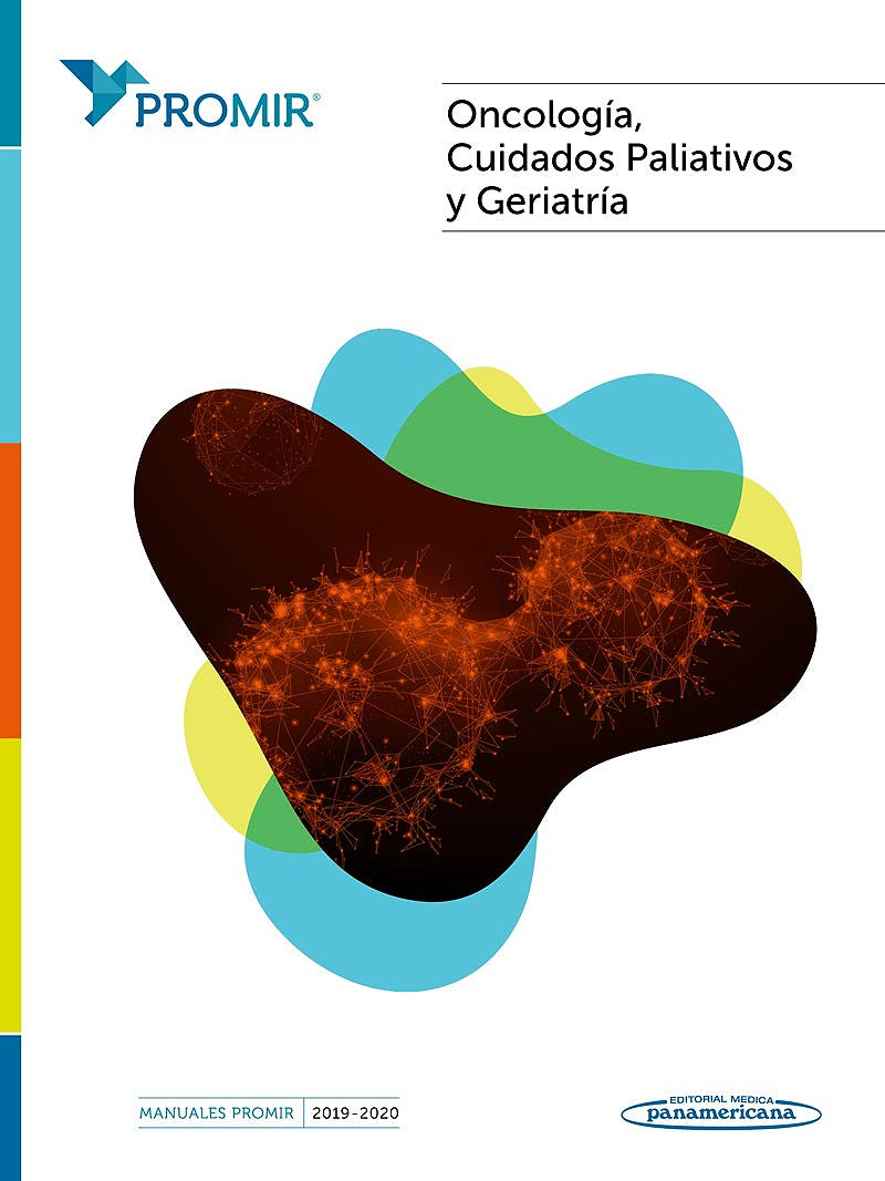 Portada del libro 9788491107408 Oncología, Cuidados Paliativos y Geriatría (Manuales PROMIR 2019-2020)