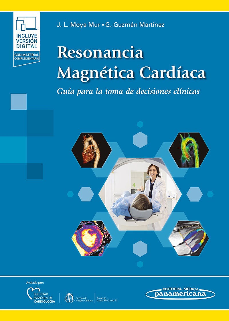 Portada del libro 9788491107514 Resonancia Magnética Cardíaca. Guía para la Toma de Decisiones Clínicas (Incluye Versión Electrónica)