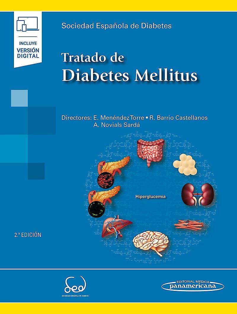 Portada del libro 9788491108139 Tratado de Diabetes Mellitus (Incluye Versión Digital)