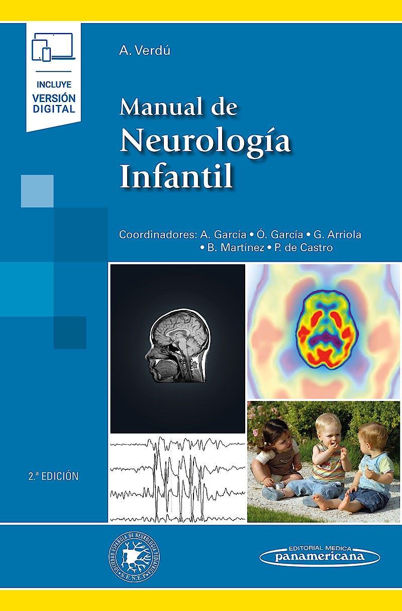 Portada del libro 9788491108399 Manual de Neurología Infantil (Incluye Versión Digital)