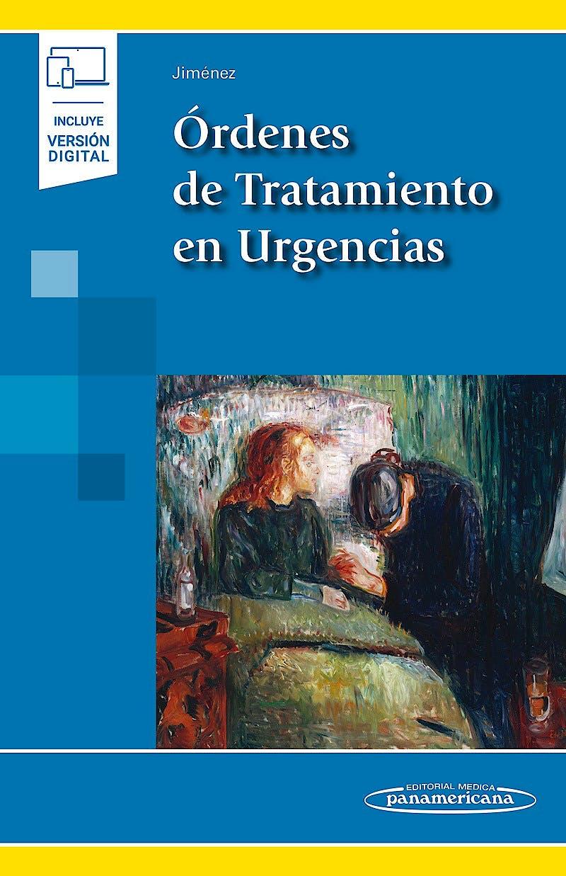 Portada del libro 9788491108757 Órdenes de Tratamiento en Urgencias