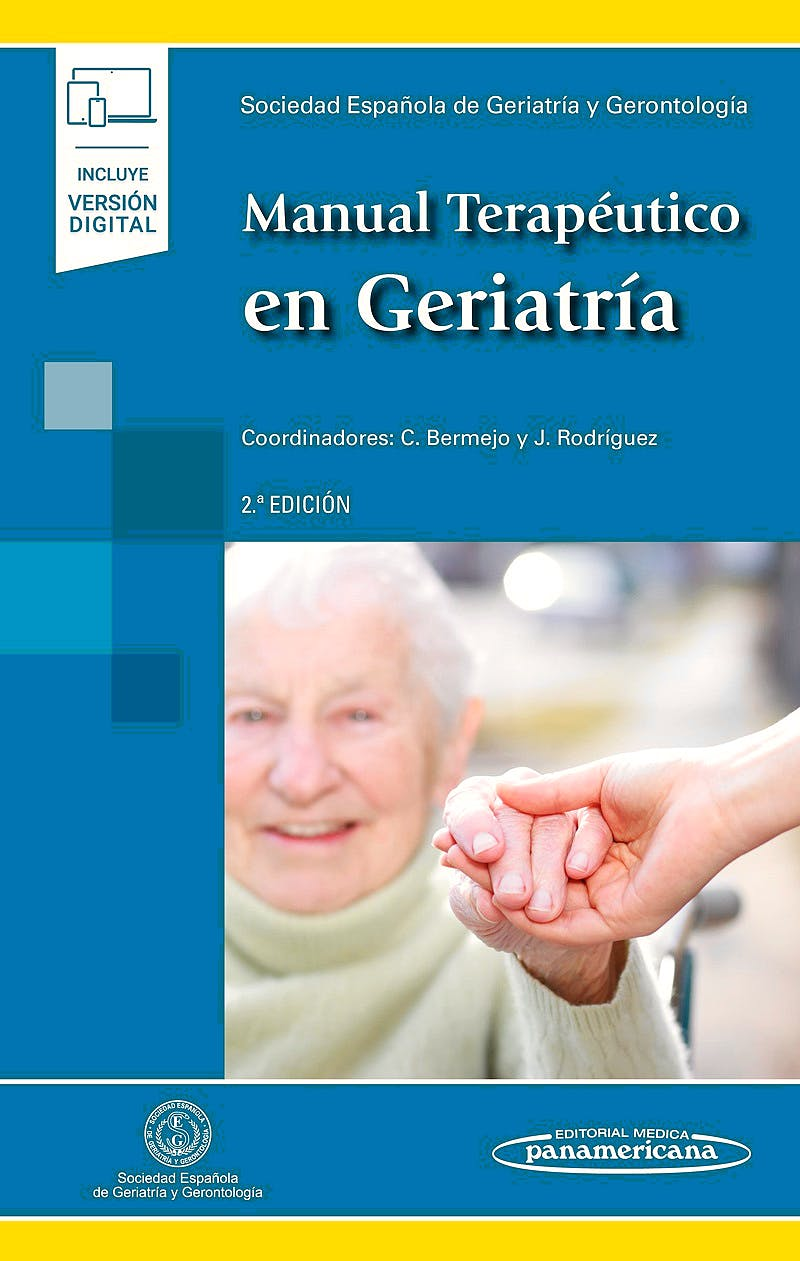 Portada del libro 9788491109167 Manual Terapéutico en Geriatría (Incluye Versión Digital)