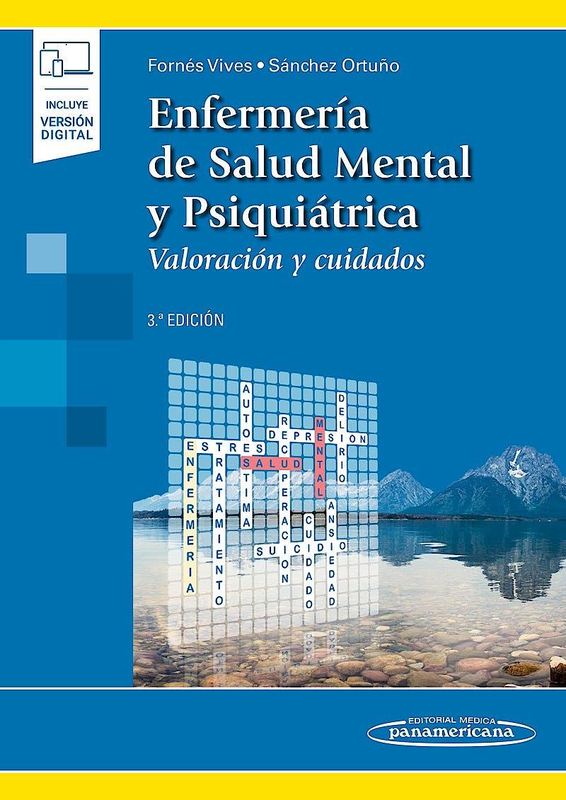 Portada del libro 9788491109198 Enfermería de Salud Mental y Psiquiátrica. Valoración y Cuidados