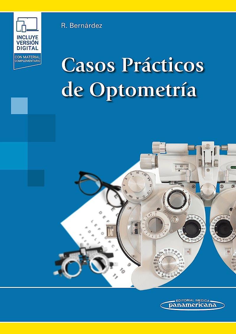 Portada del libro 9788491109372 Casos Prácticos de Optometría