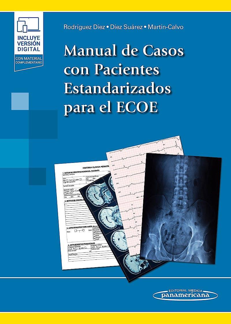 Portada del libro 9788491109426 Manual de Casos con Pacientes Estandarizados para el ECOE