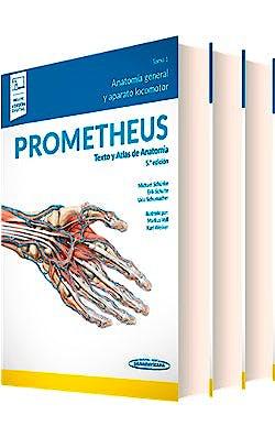 Portada del libro 9788491109723 Lote PROMETHEUS Texto y Atlas de Anatomía, 3 Tomos (Incluye Versión Electrónica) + PROMETHEUS Póster de Anatomía de Regalo