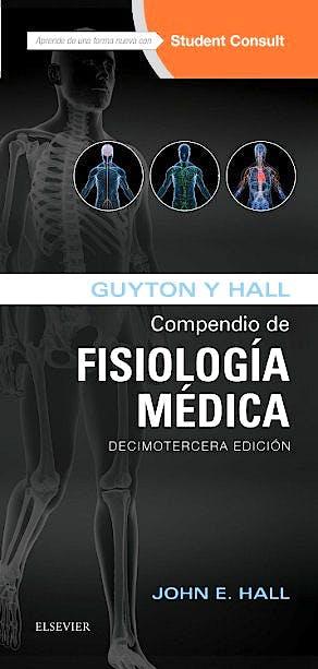 Portada del libro 9788491130222 Guyton y Hall Compendio de Fisiología Médica + Acceso Online