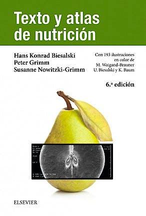 Portada del libro 9788491130550 Texto y Atlas de Nutrición