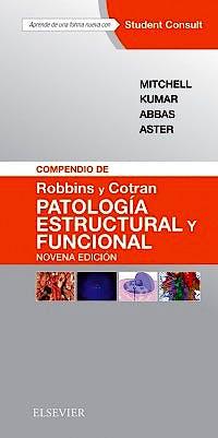 Portada del libro 9788491131274 Compendio de Robbins y Cotran Patología Estructural y Funcional + Acceso Online