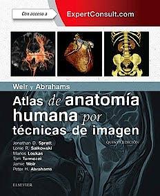 Portada del libro 9788491131281 Weir y Abrahams Atlas de Anatomía Humana por Técnicas de Imagen + Acceso Online