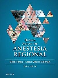 Portada del libro 9788491131694 Brown Atlas de Anestesia Regional