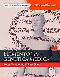 Portada del libro 9788491132066 Emery Elementos de Genética Médica + Acceso Online