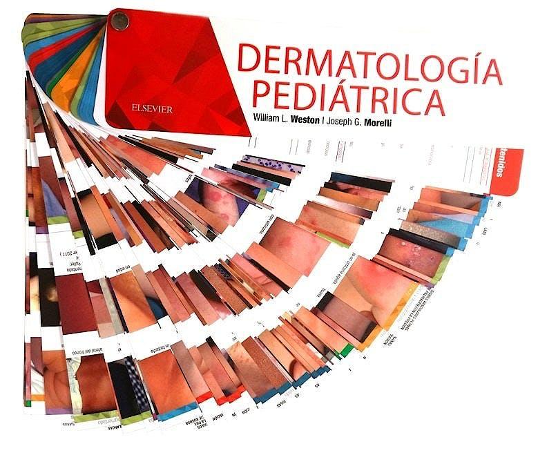 Portada del libro 9788491132141 Dermatología Pediátrica (Fichas 600 Imágenes)