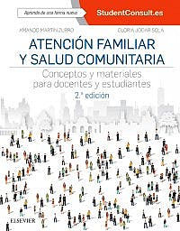 Portada del libro 9788491132271 Atención Familiar y Salud Comunitaria. Conceptos y Materiales para Docentes y Estudiantes + Acceso Online