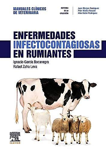 Portada del libro 9788491133537 Enfermedades Infectocontagiosas en Rumiantes (Manuales Clínicos de Veterinaria)