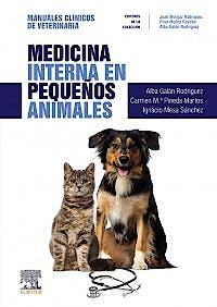 Portada del libro 9788491133551 Medicina Interna en Pequeños Animales (Manuales Clínicos de Veterinaria)