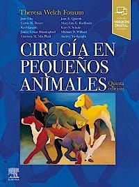 Portada del libro 9788491133803 Cirugía en Pequeños Animales + Acceso Online al Libro en Inglés