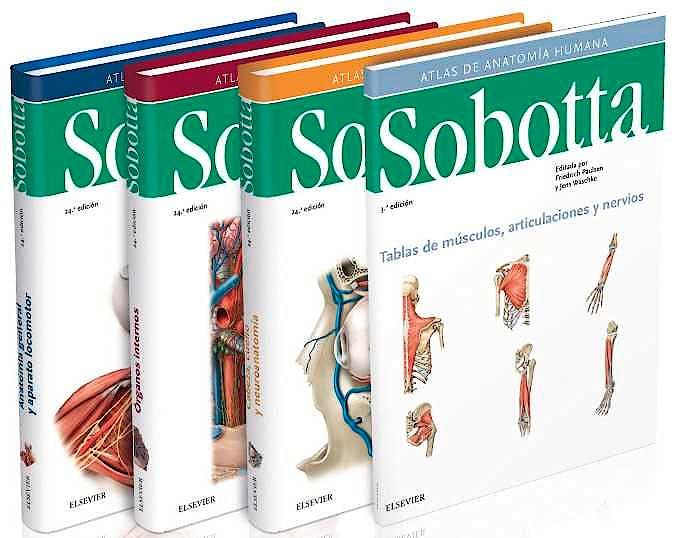 Portada del libro 9788491133933 Lote Sobotta Atlas de Anatomía Humana, 3 Vols.