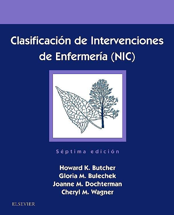 Portada del libro 9788491134046 Clasificación de Intervenciones de Enfermería (NIC)
