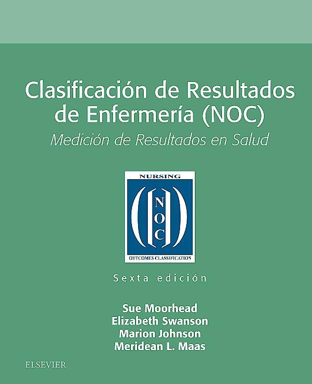 Portada del libro 9788491134053 Clasificación de Resultados de Enfermería (NOC)