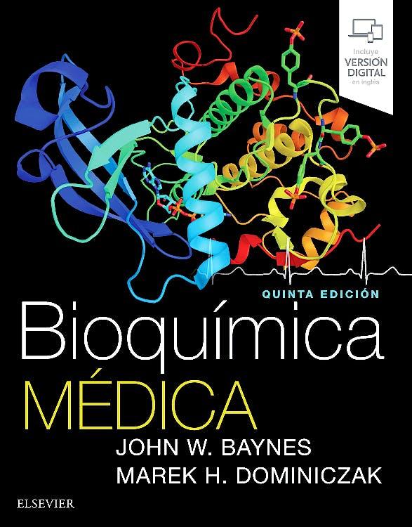 Portada del libro 9788491134060 Bioquímica Médica (Incluye Versión Digital en Inglés)