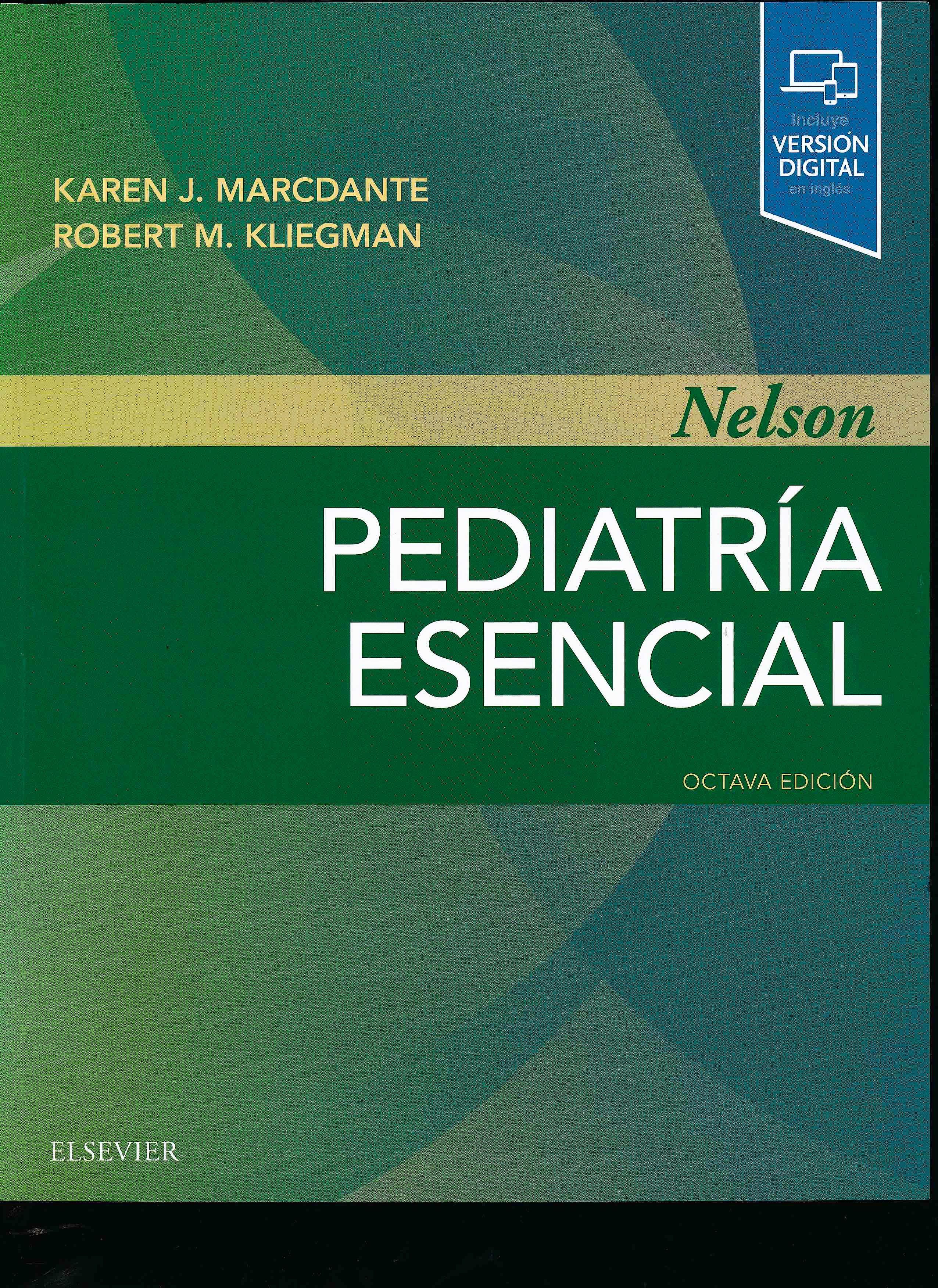 Portada del libro 9788491134213 Nelson Pediatría Esencial (Incluye Versión Digital en Inglés)