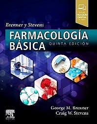 Portada del libro 9788491134244 Brenner y Stevens Farmacología Básica