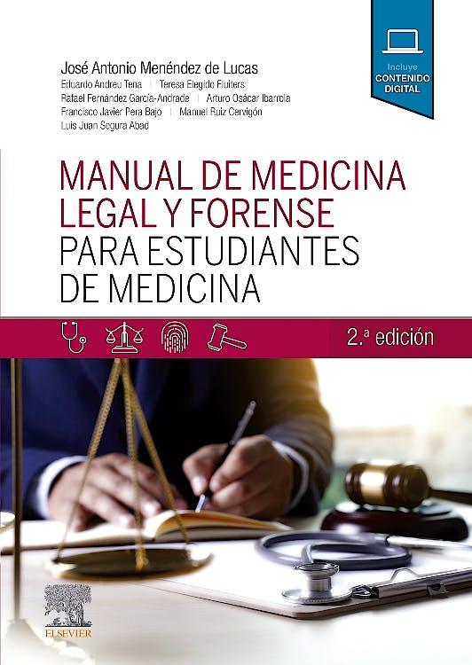 Portada del libro 9788491134527 Manual de Medicina Legal y Forense para Estudiantes de Medicina