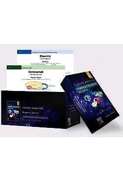 Portada del libro 9788491134589 Flashcards de Farmacología Básica (Incluye Acceso a Contenido Online)