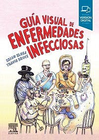 Portada del libro 9788491134787 Guía Visual de Enfermedades Infecciosas + Acceso Online en Inglés