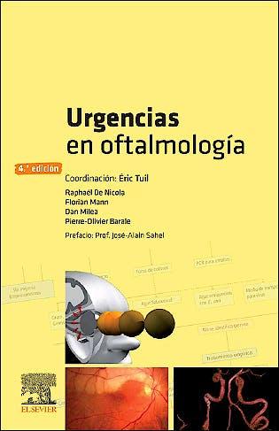 Portada del libro 9788491134855 Urgencias en Oftalmología
