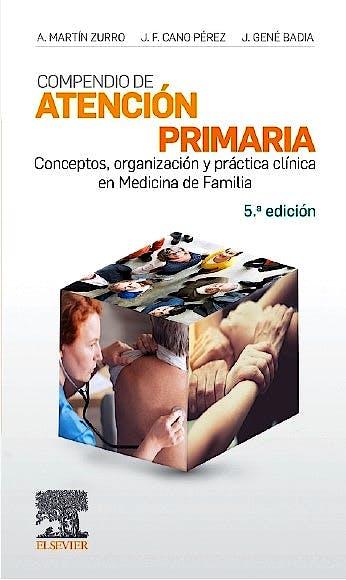 Portada del libro 9788491134947 Compendio de Atención Primaria. Conceptos, Organización y Práctica Clínica en Medicina de Familia