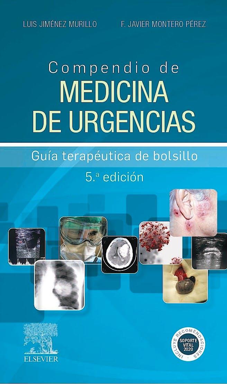 Portada del libro 9788491134954 Compendio de Medicina de Urgencias. Guía Terapéutica de Bolsillo
