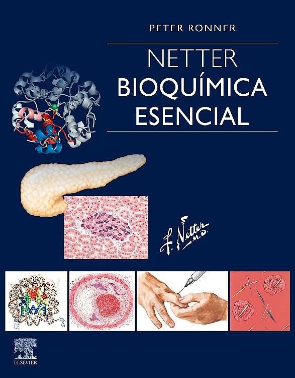 Portada del libro 9788491135159 NETTER. Bioquímica Esencial