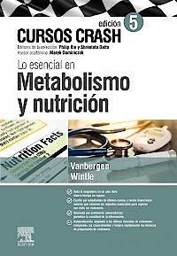 Portada del libro 9788491135371 Cursos Crash. Lo Esencial en Metabolismo y Nutrición