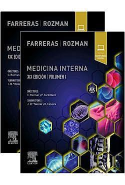 Portada del libro 9788491135456 FARRERAS ROZMAN Medicina Interna, 2 Vols. + Contenido Digital