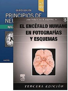 Portada del libro 9788491135623 Lote Principios de Neurociencia + El Encéfalo Humano en Fotografías y Esquemas + CD