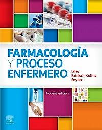 Portada del libro 9788491136033 Farmacología y Proceso Enfermero
