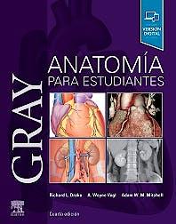 Portada del libro 9788491136088 GRAY Anatomía para Estudiantes