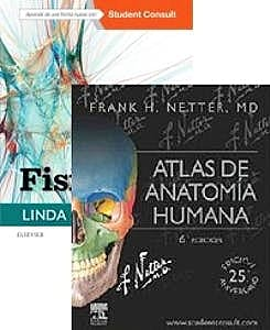 Portada del libro 9788491136095 Lote Costanzo Fisiología + Netter Atlas de Anatomía Humana