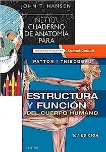 Portada del libro 9788491136231 Lote Netter Cuaderno de Anatomía para Colorear + Estructura y Función del Cuerpo Humano