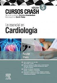 Portada del libro 9788491136491 Cursos Crash. Lo Esencial en Cardiología