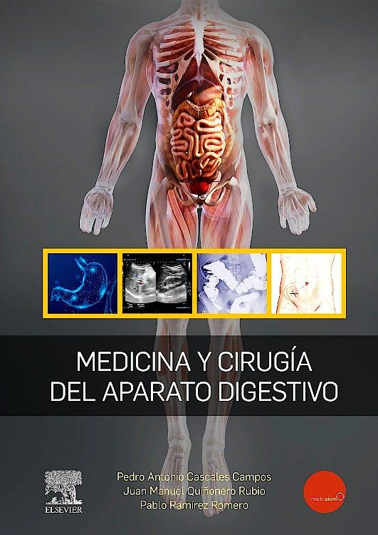 Portada del libro 9788491136507 Medicina y Cirugía del Aparato Digestivo